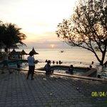 Sunset Tamaraw beach4