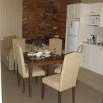 Upstairs kitchen/dining