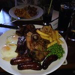 Mixed grill, I'll be here all night.