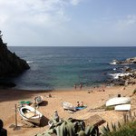 Tossa's smallest beach