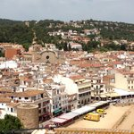 Tossa's old town