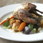 Roast Partridge with Garlic & Thyme