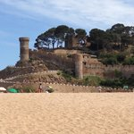 Tossa's main beach & castle