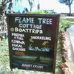 Flame Tree cottage Additional services