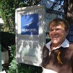 Eu em Geneve Novotel
