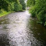 The river runs through