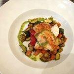 Excellent plat avec poulet et petits légumes