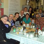 Some of the Tuesday Coffee Posse with Ken & Amy