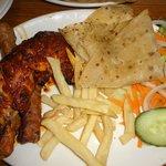 Chicken tikka combo