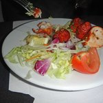 Chicken tikka starter