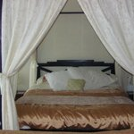 our four poster bedroom ...room 2