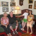 Meine Eltern Ursula und Walter, sowie meine Frau Bettina und ich