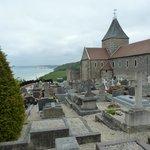 Le cimetière dit marin par sa situation