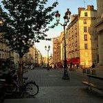 Street view of Marais