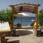 Shells restaurant, enter