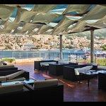 Kazbek Hotel, Terrasse