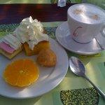 Desert and coffee