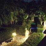 Side path from balcony - Nightime