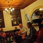 Irish session in Hotel