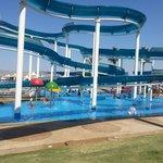 water slides at gai beach