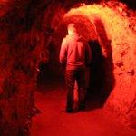 Door mens gegraven tunnels