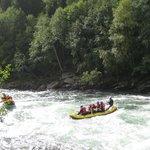 Rafting in Sjoa river
