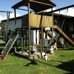 Tarabita, arenero/ Children playground