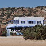 Studio Psili Ammos, seen from the beach