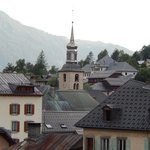 Another fantastic view from the room facing Mont Blanc