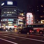 Near Daimon subway station