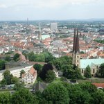 Bielefeld Altstadt from the Sparrenburg