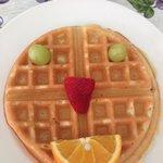 Smiley Waffle