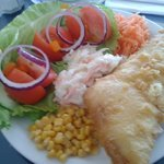 Excellent, & Tasty Fish with Salad...