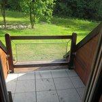 Anděla whirpool room - balcony
