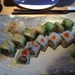 modern style sushi