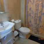 our bathroom - room 29