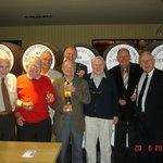 Members of Llantrisant Probus Club at Penderyn