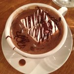 American Style Dark Hot Chocoate