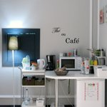 tea/coffee area