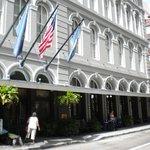 Leving The Pelham Hotel