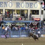 Bucking bronco at Reno
