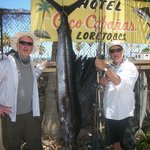 Day one and 7 ft Sailfish