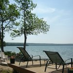 Enjoy the beach or just enjoy the sights and sounds of the lake