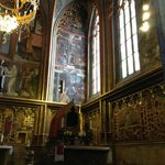 Dedicated area for St Vaclav (Wenceslaus)