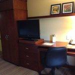 Closet, work desk