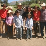 Wranglers and my Grandkids.
