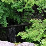 waterfall from the bamboo pipeline