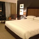 Room with king-size bed