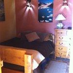 Bedroom in the Low Tide room