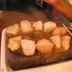 stone grill scallops - you choose your sauce